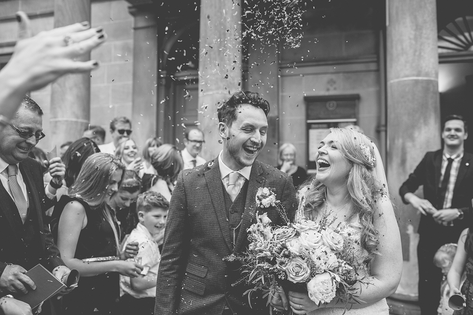 Jodie & Ian's Sheffield City centre wedding day
