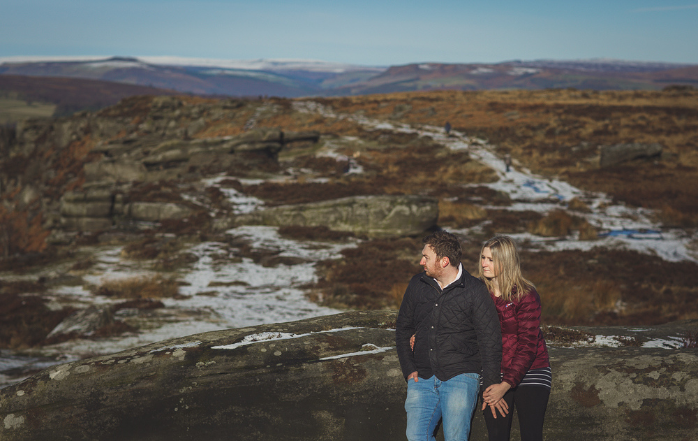 Peak District Pre-wedding session with Neil & Jenny